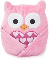 Lambs & Ivy Pink Sprinkles Plush Owl Lovey