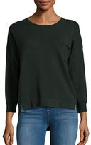 French Connection Hi-Lo Pocket Sweater