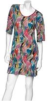development Floral Sketch Jersey Dress