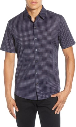 Zachary Prell Miley Regular Fit Printed Short Sleeve Shirt