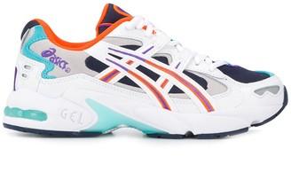 Asics colour block sneakers