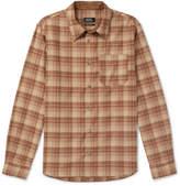 A.P.C. - Attic Checked Wool-Blend Shirt
