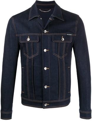 Dolce & Gabbana Denim Shirt Jacket