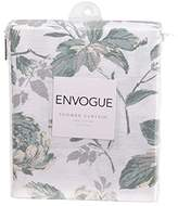 enVogue Abelie Floral Shower Curtain - Mineral Color with Metallic Highlights
