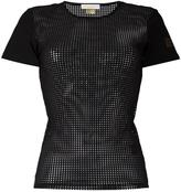 Monreal London 'Perforated' T-shirt - women - Spandex/Elastane/Polyimide - M