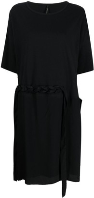 Pierantonio Gaspari Woven Strap-Embellished Dress