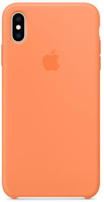 Apple iPhone XS Max Silicone Case - Papaya
