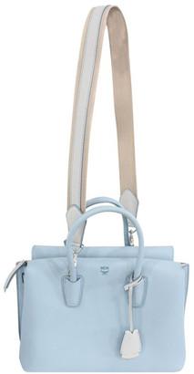 MCM Milla Light Blue Leather Crossbody Bag