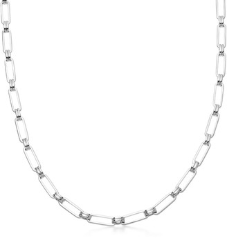Missoma Silver Aegis Chain Necklace