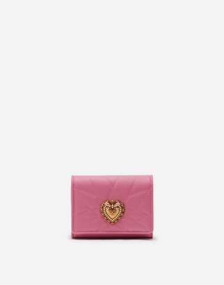 Dolce & Gabbana Small Continental Devotion Wallet