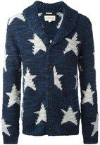 Denim & Supply Ralph Lauren star intarsia cardigan - men - Acrylic/Wool - S