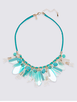 M&S Collection Tassel Shaker Collar Necklace