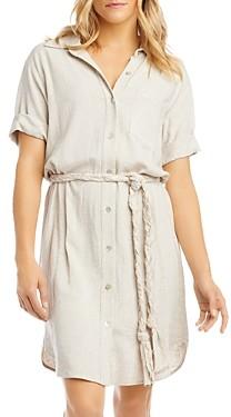 Karen Kane Belted Shirt Dress
