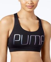 Puma Powershape Forever Metallic dryCELL Mid-Impact Racerback Sports Bra