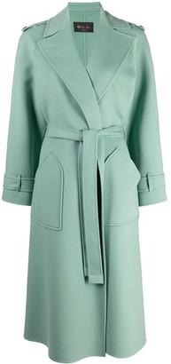 Loro Piana Belted Cashmere Coat
