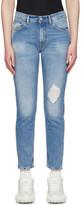 Acne Studios Blue Bla Konst Destroyed Melk Jeans
