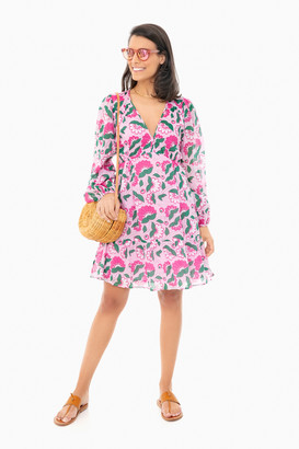 Banjanan Full Bloom Lilac Sachet Peony Mini Dress