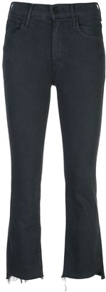 Mother high rise skinny fit jeans