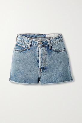 rag & bone - Maya Denim Shorts - Blue