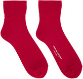 Comme des Garcons Red Short Socks