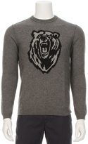 8100 Cashmere Intarsia Bear Sweater