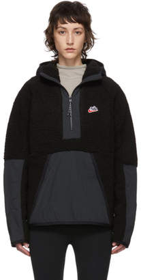 Nike Black Sherpa Fleece Pullover