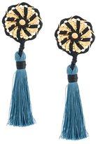 DSQUARED2 'Samurai' single tassel earrings