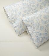 L.L. Bean Botanical Flannel Pillowcases, Print Standard Set of Two