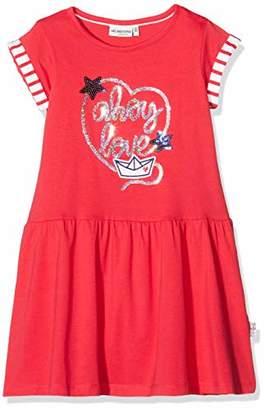 Salt&Pepper Salt & Pepper Girl's Maritime Frottee Stickerei Mit Pailletten Dress,(Size: /122)