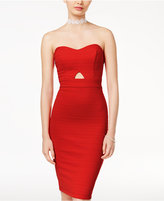 B. Darlin Juniors' Strapless Bandage Bodycon Dress