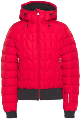 Perfect Moment Cordon Quilted Shell Down Jacket