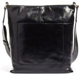 Hobo Reghan Leather Crossbody Bag - Black