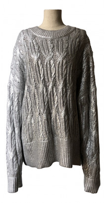 MUNTHE Silver Cotton Knitwear