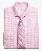 Brooks Brothers Non-Iron Madison Fit Glen Plaid Dress Shirt