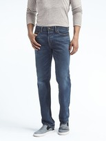 Banana Republic Straight Medium Wash White Oak® Selvedge Jean