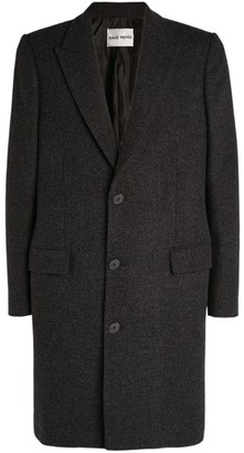 Privee Salle Wool Overcoat