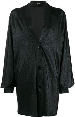 Styland metallic shawl lapel jacket
