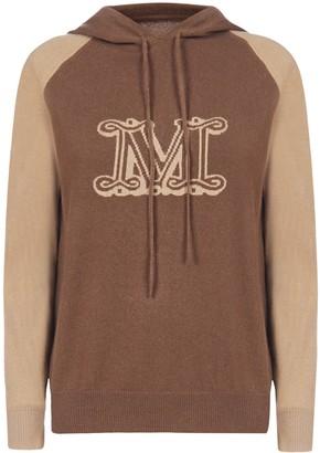 Max Mara Liegi Knitted Hoodie