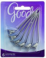 Goody Aluminum Sectioning Clips,6 Count
