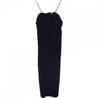 See by Chloe Navy Silk Dresses