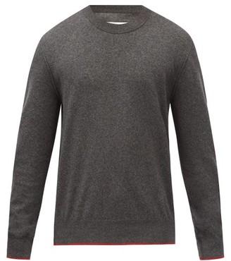 Maison Margiela Elbow-patch Cotton-blend Sweater - Grey