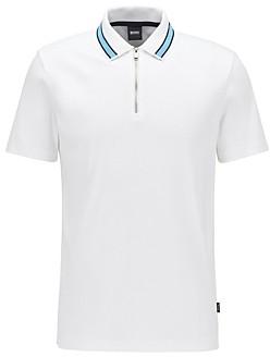 HUGO BOSS Paras Cotton Regular Fit Polo Shirt