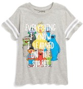 Mighty Fine Boy's X Sesame Street - Everything I Know T-Shirt
