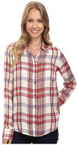 Lucky Brand Bungalow Plaid Top