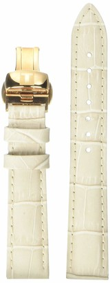 Tissot Leather Calfskin Cream Watch Strap 16mm Width (Model: T600037209)