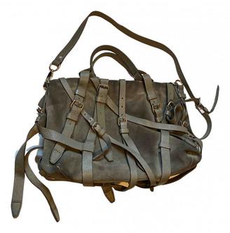 Alexander Wang Roxy Grey Suede Handbags