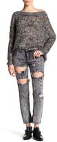 Glamorous Acid Wash Ripped Jean