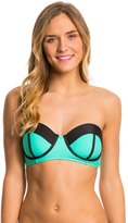 Body Glove Swimwear Womens Neo What Marilyn Underwire Bustier Bikini Top 8116227
