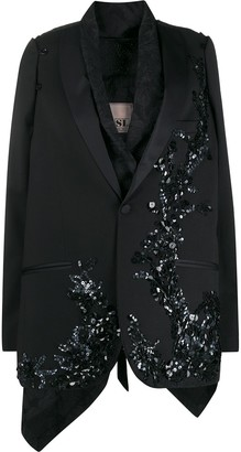 Antonio Marras Sequined Layered Blazer