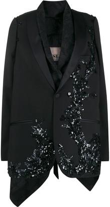 Antonio Marras Sequined Layered Blazer